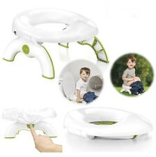 Portable Travel Kids Potty Training Toilet Seat Chair Compact Car Restroom NEW