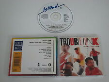 TROUBLE FUNK/TROUBLE OVER HERE, TROUBLE OVER THERE(ISLAND IMCD 47) CD ALBUM
