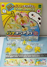 Japan Banana Garden Eel Mini Figure , 6pcs+ Display Card - Epoch Gashapon  h#3
