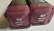 Lot Of 2 CoverGirl Lip Perfection Lipsticks # 323 Delicious SEALED New