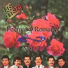LOS ACOSTA: Poemas Y Romances 2  Audio CD