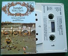 Handel Water Music Complete Virtuosi of England Davison Cassette Tape - TESTED