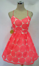 NWT WINDSOR $80 Neon Pink Dance Prom Party Dress 9