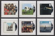 UK Pink Floyd Stamp Set MNH 2016