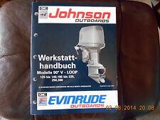 Werkstatthandbuch Johnson / Evinrude Außenborder bis 300 PS - Modelle 1992