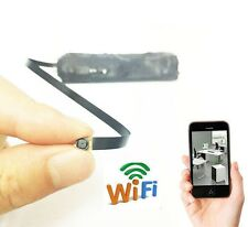 wireless WIFI DIY smallest IP mini pinhole spy Hidden nanny camera recorder DVR