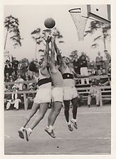 1936 OLYMPIC SUMMER GAMES ~ BASKETBALL ~ TURKEY VERSUS CHILE