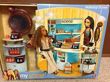 Barbie Doll My Scene Beauty Cosmetic Shop Makeup Salon Accessory Playset Rare