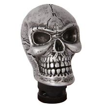 Universal Racing Manual Car Gear Stick Shifter Shift Knob Skull Silvery C0013