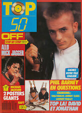 TOP 50 085 (19/10/87) OFF MICHAEL JACKSON RAFT SANDRA INDOCHINE DEPECHE MODE