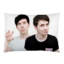 DAN HOWELL AND AMAZING PHIL Pillow Case Cover B