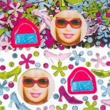 Barbie All Dolled Up  Birthday Party Printed Confetti