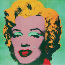 ANDY WARHOL - Marilyn 1967 Green Small ART PRINT Offset Lithograph Monroe Poster