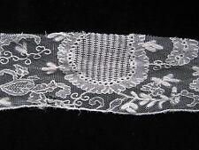 Very Pretty Antique Vintage Lace trim Cut Off 1.0 m x 7.0 cm