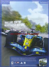"F1 06 ""Race Like Youve Never Raced Before"" 2006 Magazine Advert #4714"