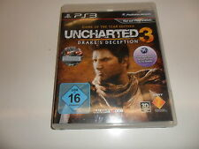PlayStation 3 PS 3  Uncharted 3 - Drake's Deception (Game of the Year)