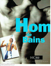 PUBLICITE ADVERTISING 096  1994  Hom sous vetements maillots bain homme