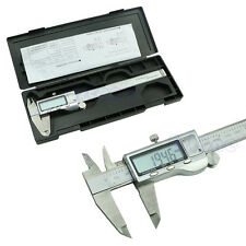 150mm 6inch Stainless Steel Electronic Digital Vernier Caliper Micrometer Guage