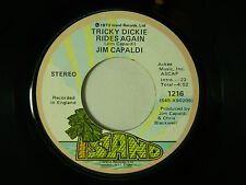 Jim Capaldi 45 TRICKY DICKIE RIDES AGAIN / LOVE IS ALL YOU CAN TRY ~ Island VG++