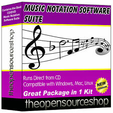 Pro Audio Composer Notation Software Package – Learn To Create Sheet Music