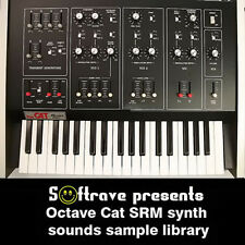 OCTAVE CAT SRM  sample library - vintage analog synth samples of synthesizer
