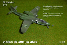 Heinkel He 500 (He 362)    1/72 Bird Models Resinbausatz / resin kit