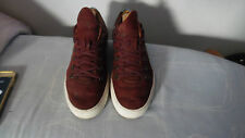 FILLING PIECES Death Valley Sneaker Basse in Pelle in Camoscio Rosso Tg UK 9
