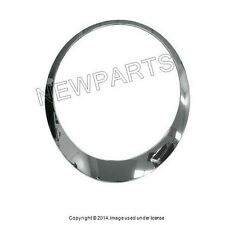 Genuine Mini Cooper 2007 2008 2009 2010 2011 2012 Headlight Trim Ring - Chrome
