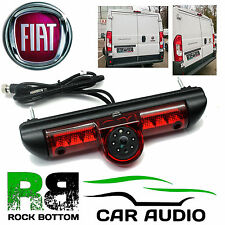 Fiat Ducato Van X250 & X290 LED Brake Light & Rear View Reversing Camera CAM-FT1