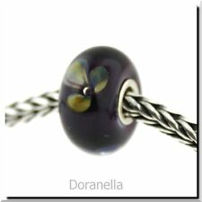 Authentic Trollbeads Glass 61401 Violet Flower :1 27% OFF