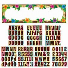 65in Giant Luau Tropical Tiki Birthday Party Personalized Banner Decoration