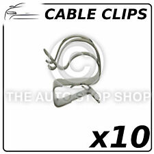 Fasteners Cable Clips 8 To 12 MM Part Number: 11601 Pack of 10 (All Vehicles)