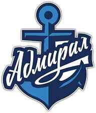 "Admiral Vladivostok KHL Hockey Car Bumper Window Locker Sticker Decal 4""X5"""