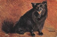 B98457 gilette dog chien g henstein painting postcard  animal animaux