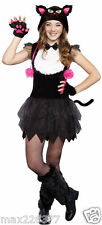 NEW Bad Kitty cat halloween Costume dress  Large girl tween size 10 ⭐