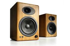 Audioengine A5+ Bamboo (Pair) Premium Powered Speakers - Free Shipping - NEW