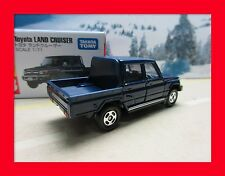 FEB 2015 new 103 TOYOTA Land Cruiser 4x4 Pick Up Jeep TOMICA TAKARA TOMY navy