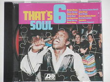THAT'S SOUL 6 - (Herbie Mann, Gene Page, Spinners, Ben E. King...) CD