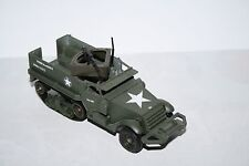 half track us army mitrailleuse WWII solido 1/50 vehicule chenille