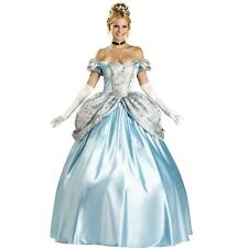 Princess Adult Cosplay Cinderella Elite Collection Halloween Costume one set