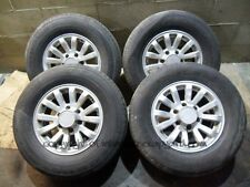 Isuzu Trooper Duty 3.0 91-02 Gen2 alloy wheels wheel x4 + tyres 245 70 16 alloys