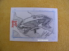 Lost in Space 2005 Rittenhouse JUPITER 2 SketchaFEX Card 1:480 packs!!