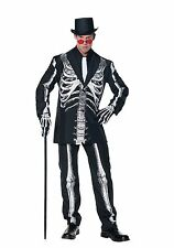 UNDERWRAPS BONE DADDY COSPLAY CREEPY SKELETON SUIT HALLOWEEN COSTUME 28390