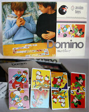 VINTAGE 80'S WALT DISNEY DOMINO VERY RARE GREEK BOARD GAME ASSIM TOYS NEW !