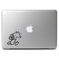 "Calvin & Hobbes Naked for Macbook Air/Pro 11 12"" 13 15 17"" Vinyl Decal Sticker"