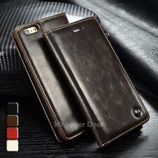 LG V10 Leder Synthetisch Tasche Hülle Etui Flip Case Cover Bumper Zubehör Braun