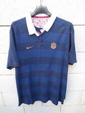 VINTAGE Maillot rugby QUINZE de FRANCE NIKE rétro shirt L héritage collection
