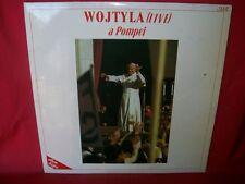 WOJTYLA Live a Pompei Doppio LP ITALY 1986 MINT-