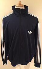 Rare Adidas Trefoil Firebird Blue Track Jacket SZ 2XL Run DMC