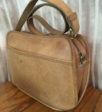 VTG COACH British Tan 234 Leather Bag Large & Expandable Made in USA Ships Free!